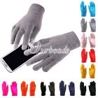 Unisex Touch Screen Phone Tablet Full Finger Warm Mittens Gloves Wholesale NEW