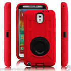 Hard Outer Box Back Case Cover with Kickstand for Samsung Galaxy Note 4