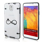 samsung note 2 3 - For Samsung Note 2 3 4 5 Clear Hard TPU Case Cover Infinity Love Cross Christian