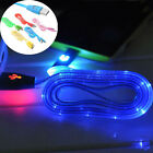 LED Neon Light Smile USB Charger Data Sync Cable Cord for Samsung S3 S4 Note 2 4