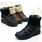 2sbd0898 winter fur synthetic leather ankle knit  betled boots Made in korea