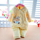 cotton warm 2 pcs Newborn Baby Clothes Girls Boys Winter Outfits & Sets