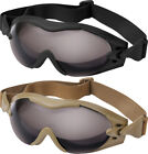 SWAT TEC Tactical Goggles Anti Fog & Scratch Poly Carbonate Lens Paintball Gear