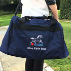 Personalised I Love Horses Mini Holdall Travel Bag Name Slogan Equestrian Riding