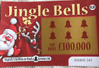 Fake Xmas Lottery Scratch Cards - Very Realistic  !!     Best Gag Ever !!
