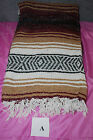 Earth Ragz Mexican Made Falsa Blanket Assorted Colors  S4261