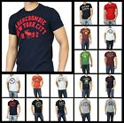 New Abercrombie by Hollister Men A&F HERITAGE T-Shirt Muscle Fit Vintage Size