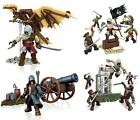 ASSASSIN'S CREED Set PLAYSET Kit Costruzioni MEGA BLOKS Figure Armi ORIGINALE