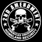 2nd Amendment America's Original Homeland Security POCKET TEE T SHIRT