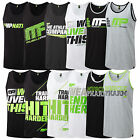 MUSCLE PHARM MENS GRAPHIC VESTS - SLEEVELESS GYM FITNESS EXCERISE TRAINING