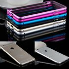 """All Metal Aluminum Buckle Open Shell Bumper Hard Case Cover For iPhone 6 4.7"""""""