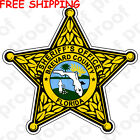 FREE SHIPPING  SHERIFF BREVARD COUNTY STICKER MAGNET BANNER