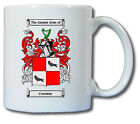 CRUTCHLEY COAT OF ARMS COFFEE MUG