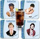 5 SECONDS OF SUMMER  BIRTHDAY DRNKS COASTER PERSONALISED FREE OF CHARGE