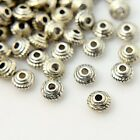 50 x Tibetan Style Spacer Beads 5x3mm Various Colours