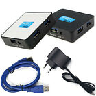 Tide EU 5Gbps External USB 3.0 4 Ports Hub Adapter With Power Adapter For PC