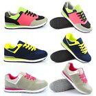 WOMENS GRILS SUEDE BLAZER LIGHT TRAINERS RUNNING WALKING GYM SPORTS SHOES SIZES