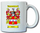 BEACOCK COAT OF ARMS COFFEE MUG