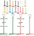 Kitchen Roll Holder and Mug Tree Metal 9 Colours