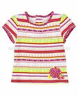 Deux par Deux Baby Girl's Striped Top Dejeuner, Size 12M