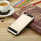 Extream Card pocket ShockProof Slim Hybrid wallet case cover for iPhone6 Plus A