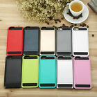 "Card pocket Extream ShockProof Slim Hybrid wallet case cover for 4,7"" iPhone 6 B"