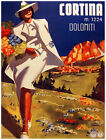 4872.Cortina.woman wearing white running on field.POSTER.Decoration.Graphic Art