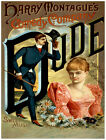 "4891.Harry Montague's comedy company.'dude""..POSTER.Decoration.Graphic Art"