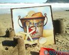 Fun Nautical Metal Plaque! Seaside, Beach, Shells, Bucket - Crab or Lobster Sign
