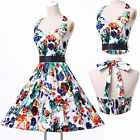 London CHEAP Vintage Housewife Paty Prom Dresses 50s 60s Rockabilly Pinup Dress