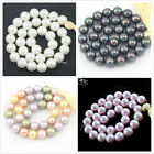 """Jewelry Making Beads 12mm Round Natural Shell Pearl Gemstone Spacer Strand 15"""""""