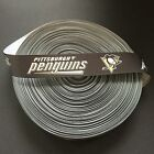 "7/8"" Pittsburgh Penguins Grosgrain Ribbon by the Yard (USA SELLER!) $2.95 USD on eBay"