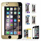 Full Cover Color Tempered Glass Screen Protector for iPhone 6...