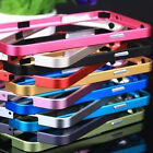 NoScrew Ultra Thin Metal flat Frame Bumper Case GS for Samsung S5 i9600 S4 Note3
