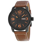 Citizen Eco Drive Brown Leather Mens Watch BM8475-26E
