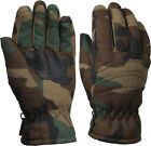 Kids Woodland Camouflage Thermoblock Insulated Hunting Gloves