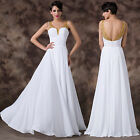 Long Women Bridesmaid Dress Evening Cocktail Party Prom Ball Gown Plus Size 6-20