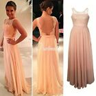 2015 elegant Chiffon Evening Dress lace long party dress new bodycon dress