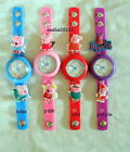 PEPPA PIG JIBBITZ BAND WATCH & 2 CHARMS, BRAND NEW