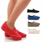 LADIES WOMENS PUMPS COMFORT WALK FLEXI SPORTS TRAINERS HOLIDAY GO SHOES SIZE