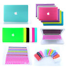 "Rubberized Hard Case+ EU/US Keyboard Cover for Macbook Pro 13""15"" Air 11""13""inch"