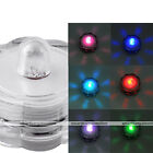 1pc Color Change SUBMERSIBLE WATERPROOF Flower LED Decor Fountain Pond Light