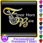 Tenor Horn Babe - Personalised Music T Shirt 5yrs - 6XL by MusicaliTee
