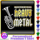Tenor Horn Master Of Heavy Metal - Music T Shirt 5yrs - 6XL by MusicaliTee