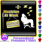 Conductor Dont Wake Me - Personalised Music T Shirt 5yrs - 6XL by MusicaliTee