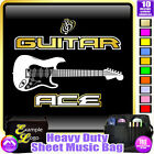Electric Guitar Ace 2 - Sheet Music & Accessories Custom Bag by MusicaliTee