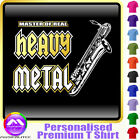 Sax Baritone Master Of Heavy Metal - Music T Shirt 5yrs - 6XL by MusicaliTee
