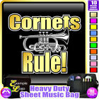 Cornet Rule - Sheet Music & Accessories Personalised Bag by MusicaliTee