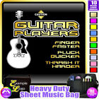 Acoustic Guitar Finger Faster - Sheet Music & Accessories Bag by MusicaliTee