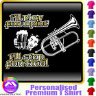 Flugelhorn Play For A Pint - Custom Music T Shirt 5yrs-6XL MusicaliTee 2